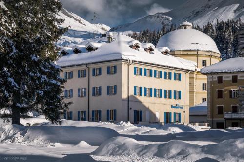 Hotel Brocco e Posta durante l'inverno