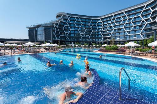 The swimming pool at or near Bosphorus Sorgun Hotel