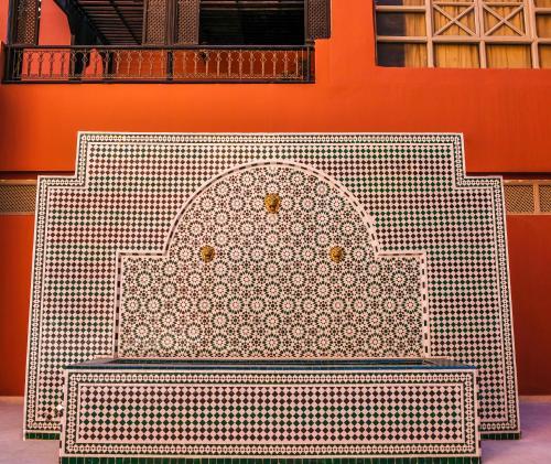 Plano de Diwane Hotel & Spa Marrakech