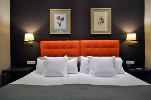 Cama o camas de una habitación en San Gil