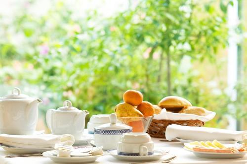 Opciones de desayuno disponibles en Costa Nova Hotel