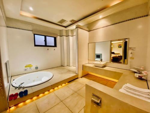 春水漾精緻休閒旅館衛浴