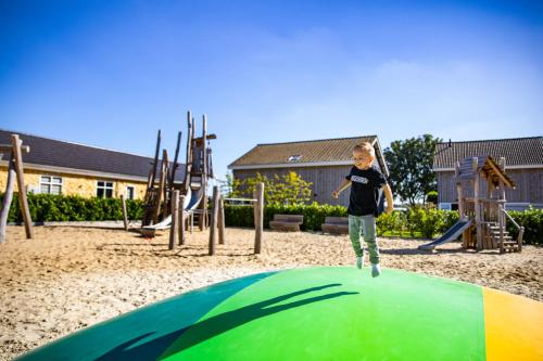 Children's play area at Resort Mooi Bemelen