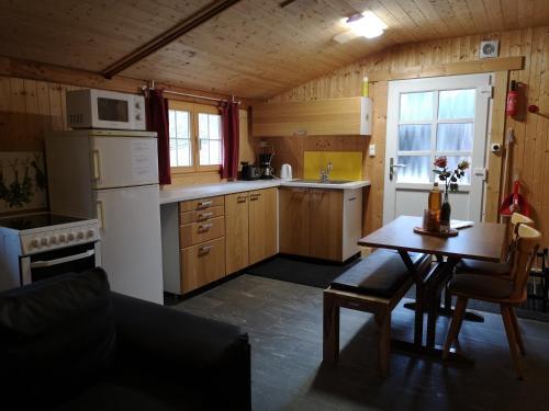 Кухня или мини-кухня в Chez Martial