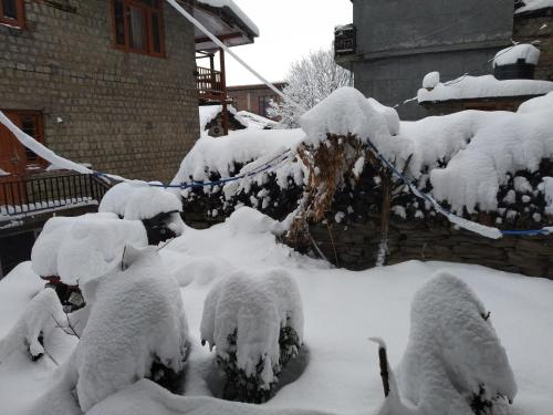 Joshi's homestay during the winter