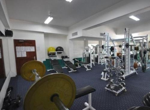 The fitness center and/or fitness facilities at Phnom Penh Hotel