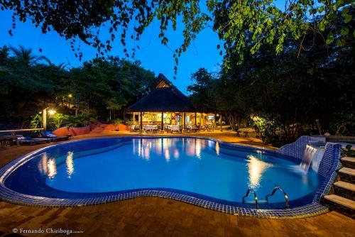 Het zwembad bij of vlak bij Pousada Ecovila Spa Da Alma