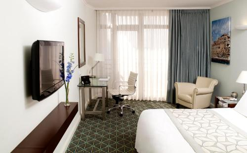 A television and/or entertainment center at Renaissance Tel Aviv Hotel