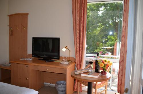 TV/Unterhaltungsangebot in der Unterkunft Hotel zur Brücke