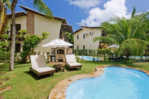 Het zwembad bij of vlak bij Serhs Villas Da Pipa Hotel