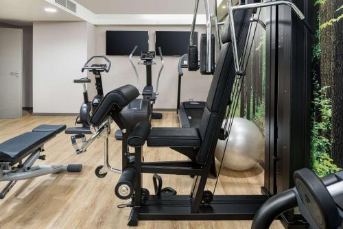 O centro de fitness e/ou as comodidades de fitness de NH Collection Lisboa Liberdade