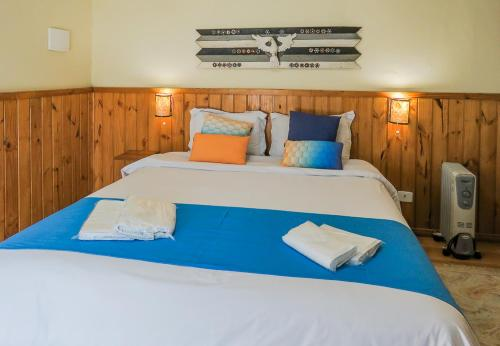 Cama ou camas em um quarto em Guida Residenza Pousada