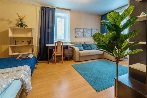 Гостиная зона в Квартира на Морском