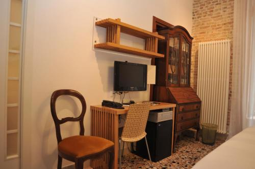 A television and/or entertainment center at 3C B&B
