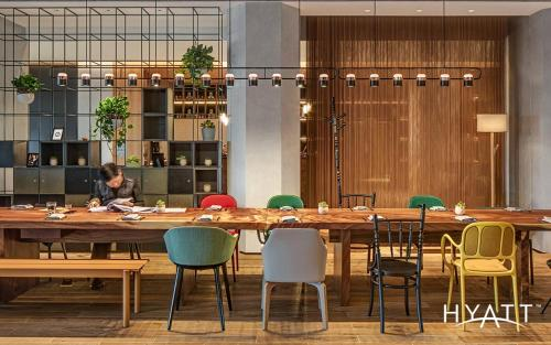 A restaurant or other place to eat at BEI Zhaolong Hotel, a JdV by Hyatt