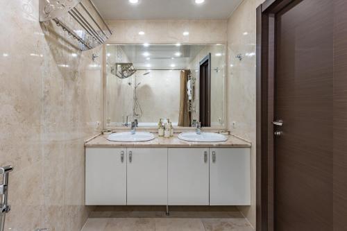 Ванная комната в Отель Эра на Седова