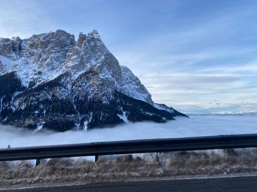 Appartamento Alpe di Siusi en invierno