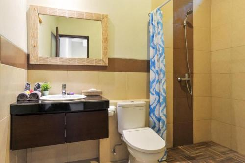 A bathroom at Family three bed room neil villa private pool