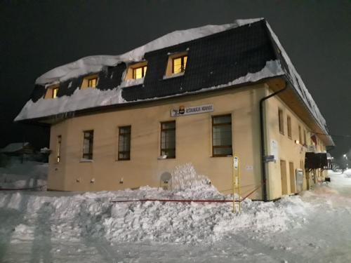 Penzión Krahule v zime