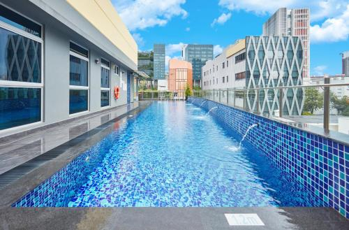 The swimming pool at or near Ibis Budget Singapore Clarke Quay (SG Clean)