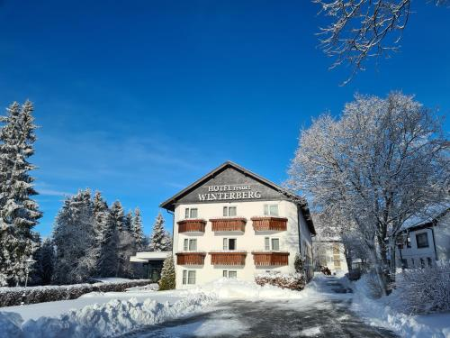 Hotel Winterberg Resort during the winter