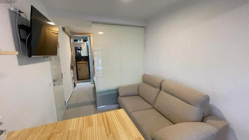 A seating area at villasun beach studio