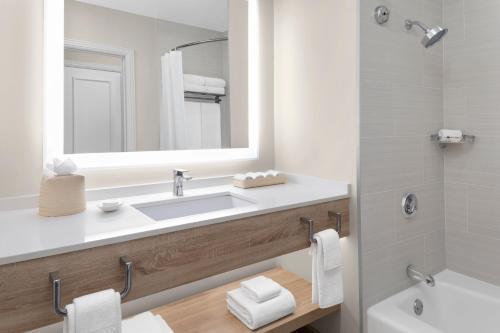 A bathroom at The Royal at Atlantis