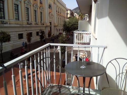 A balcony or terrace at CARAMEL HOUSE