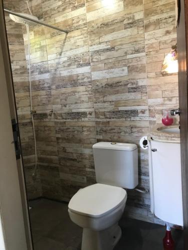 Um banheiro em Casa Abacate
