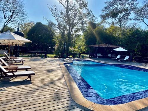 The swimming pool at or near Hotel Santa Esmeralda
