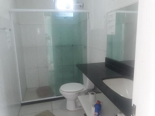 A bathroom at Pousada Divino Hospedagens e SPA