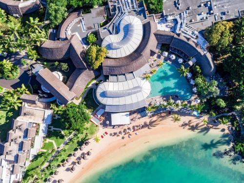 A bird's-eye view of LUX* Grand Gaube Resort & Villas