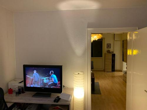 A television and/or entertainment centre at Waisi's