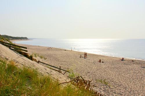 A beach at or near the campsite