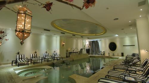 The swimming pool at or near Hotel Sainte Jeanne