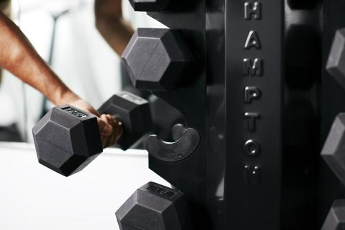 The fitness center and/or fitness facilities at Club Quarters Hotel Midtown - Times Square