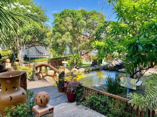 The swimming pool at or near Pousada Rancho das Dunas
