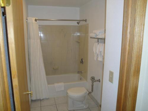 A bathroom at Chicago Lakeshore Hotel