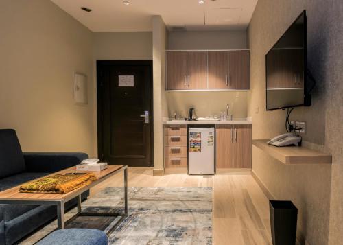 A cozinha ou cozinha compacta de Tiara