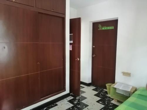 A bathroom at Tu Casa Natura