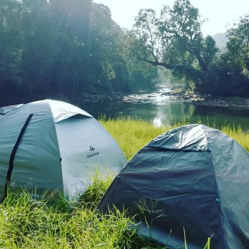 Coorg River Rock Camping