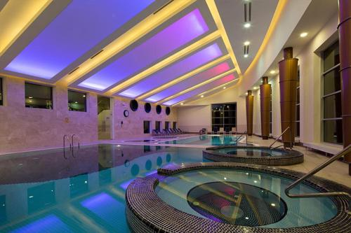The swimming pool at or near Hotel Vesna
