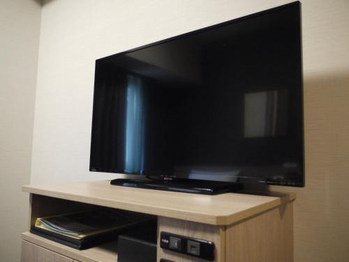 A television and/or entertainment center at Hotel Route-Inn Kitamatsudo Ekimae