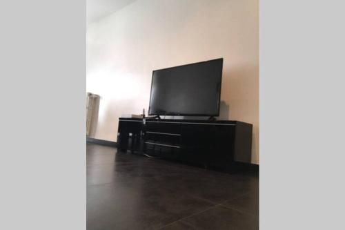 A television and/or entertainment centre at Superbe appartement à 2 minutes du stade vélodrome