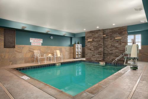 The swimming pool at or near Hyatt House Minot- North Dakota