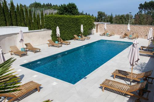 A view of the pool at Blanco Hotel Spa or nearby