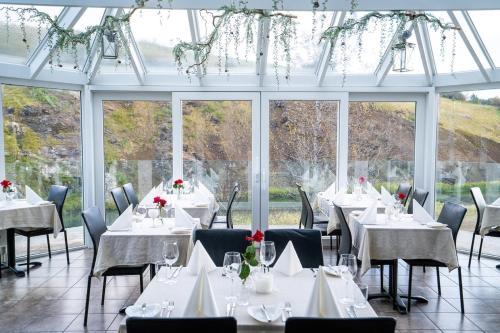 Restaurant ou autre lieu de restauration dans l'établissement Frost and Fire Hotel