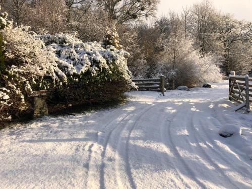 Little Knockbog Farm during the winter