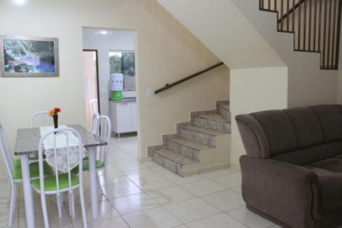 A seating area at Bonito Residencial Flat