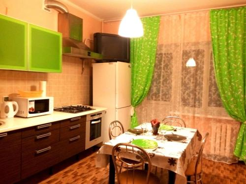 Кухня или мини-кухня в Apartment Water Park